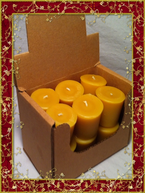Beeswax Votive Candle pack 12 - Granny Kate's