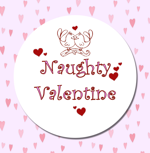 Naughty Valentine 1 Magnet or Pin - Granny Kate's