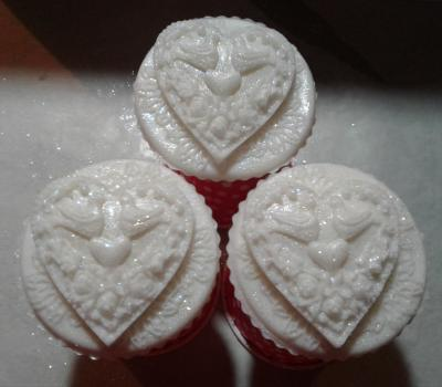 Wedding Cake Cupcake Soap - Granny Kate's