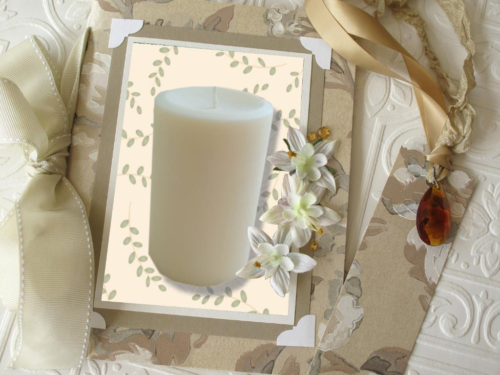 "Pillar Candle 2""x 3.5"" - Granny Kate's"