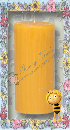 Beeswax  Pillar Candles - Granny Kate's