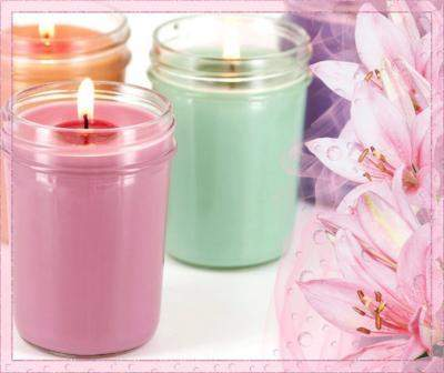 8oz Jelly Jar Candle