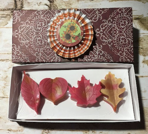 Autumn Leaves Guest Soap Gift Set