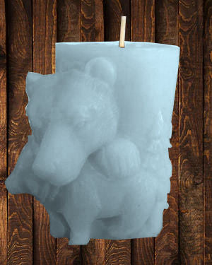 Bear Pillar Soy Candle