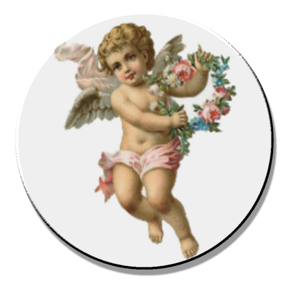 Cherub 01 Magnet or Pin