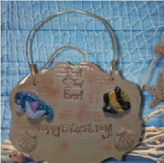 Under the Sea Father's Day Plaque - Granny Kate's