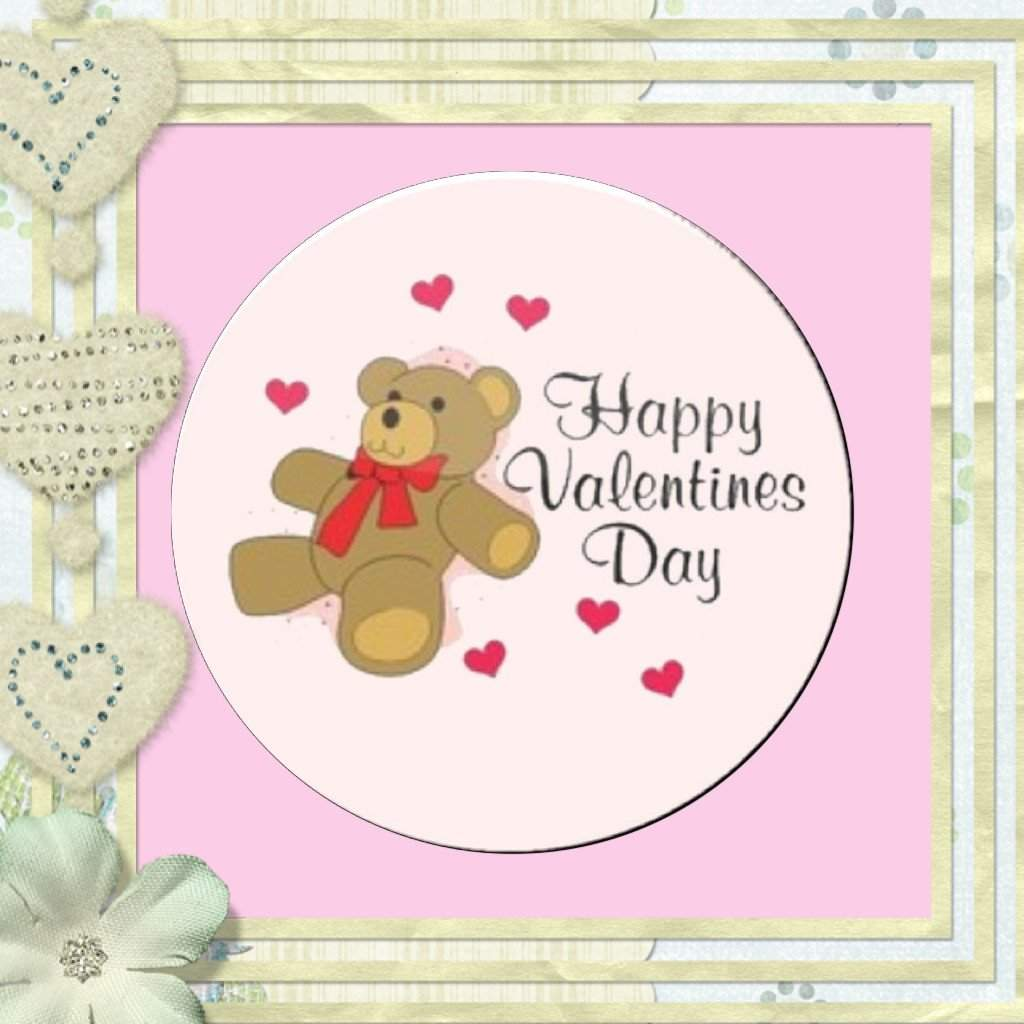 Valentine Bear Magnet or Pin - Granny Kate's