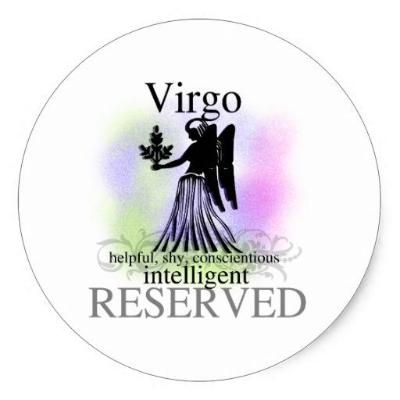 Virgo Magnet Or Pin - Granny Kate's