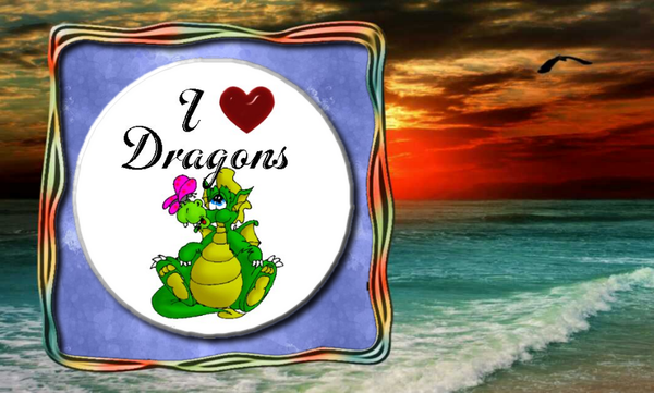I Love Dragons - Granny Kate's