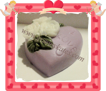 Heart & Roses Guest Soap - Granny Kate's