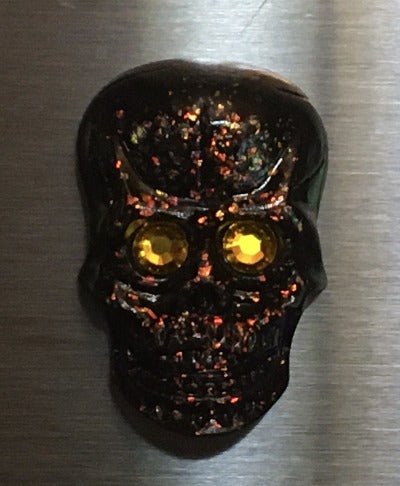 Mr. Bones Skull Resin Magnet