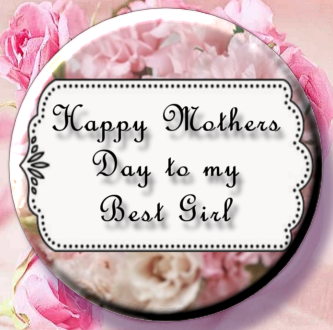 Happy Mother's Day Magnet or Pin 05