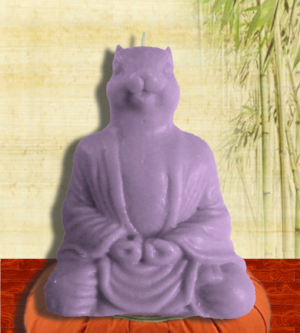 Squirrel Buddha Soy Candle - Granny Kate's