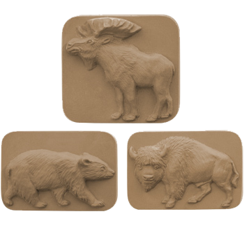 Wild Animal Soap Gift Set - Granny Kate's