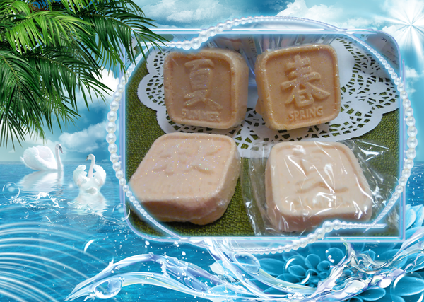 Fizzy Bath Butter Asian Seasons Set - Granny Kate's