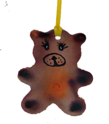 Teddy Bear Ornament - Granny Kate's