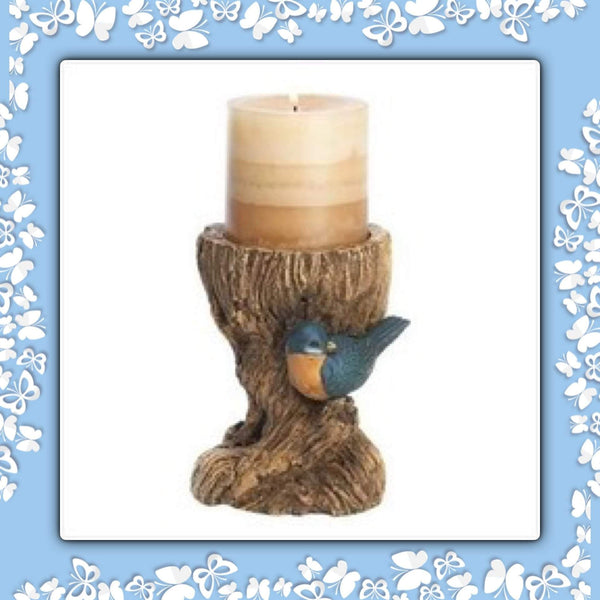 Bluebird Pillar Holder - Granny Kate's