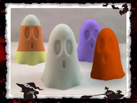 Little Ghost Soap Favors Set - Granny Kate's