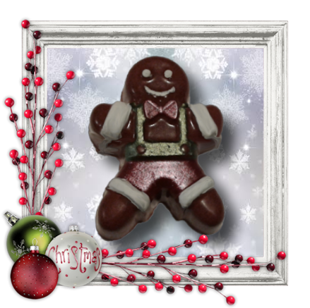 Gingerbread Man Soap - Granny Kate's