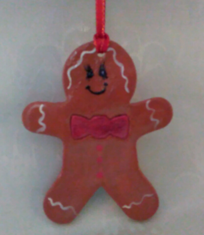 Gingerbread Man Ornament - Granny Kate's