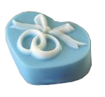 Wedding Rings Heart Glycerin Soap