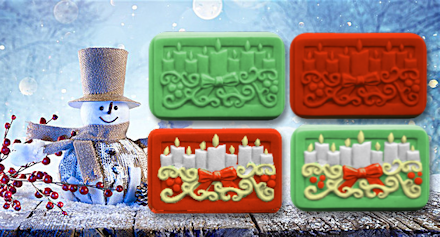 Holiday Lights Soap