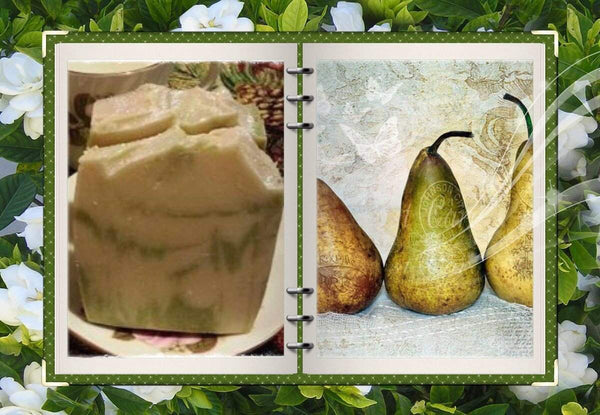 Perfect Pear Homemade Soap - Granny Kate's
