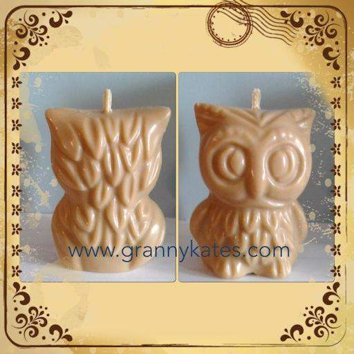 Owl Soy Candle - Granny Kate's