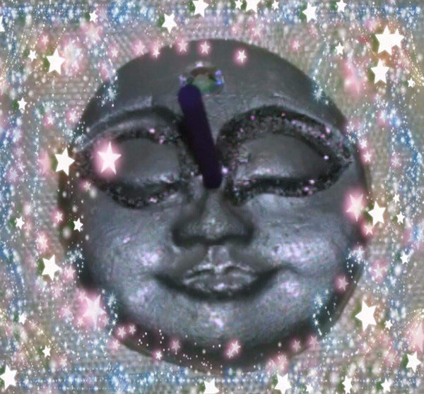 Moon Face Incense Holder - Granny Kate's