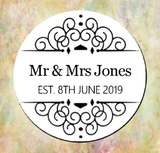 Mr & Mrs Magnet/Pin