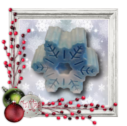 Winter Snowflake Soap - Granny Kate's