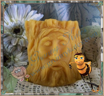 Beeswax Tree Man Spirit Candle - Granny Kate's