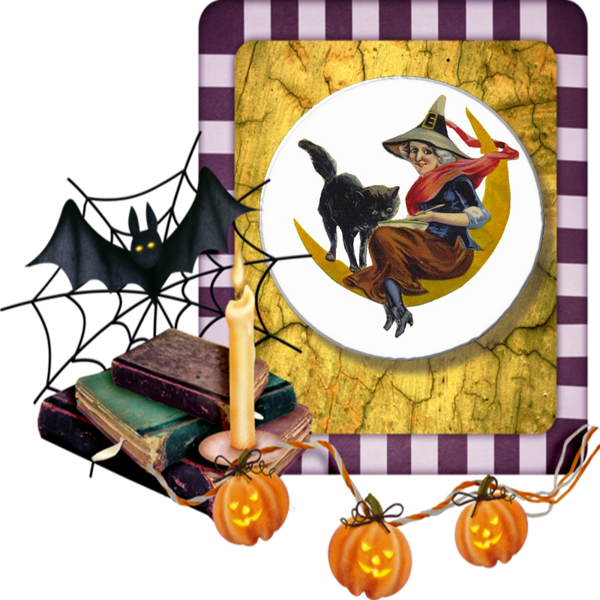 Vintage Halloween Witch - Granny Kate's