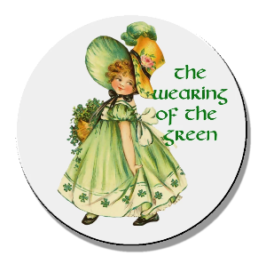 Wearing of the green girl