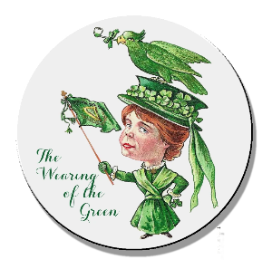 Wearing of the green lady