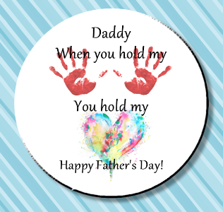 Father's Day Magnet or Pin 3