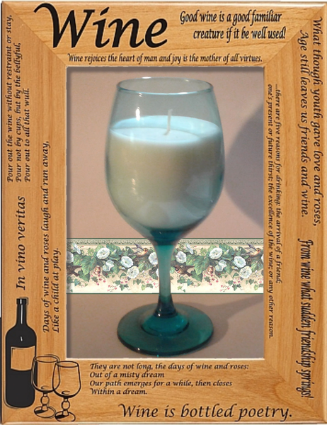 Wine Glass Candles - Granny Kate's