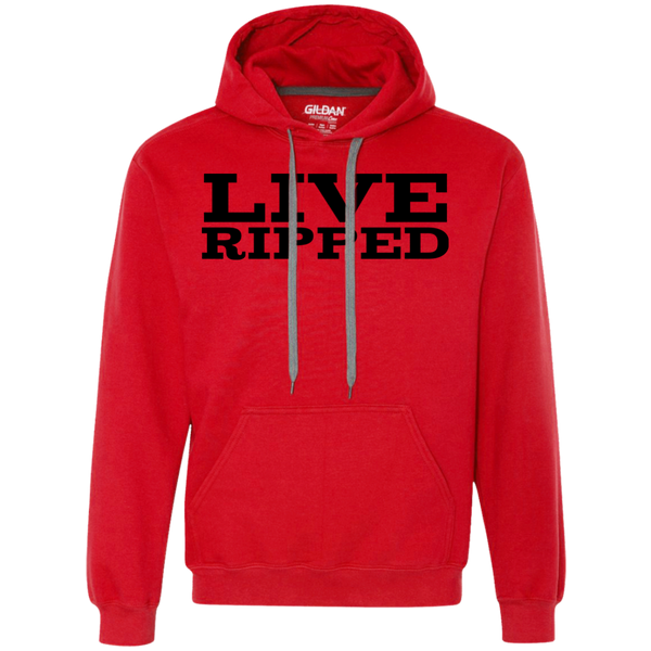 "Be The One Apparel ""Live Ripped"" hoodies (black text)"