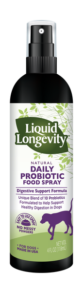 Liquid Longevity™ Dog Probiotic