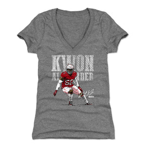 Kwon Alexander Women's V-Neck T-Shirt | 500 LEVEL