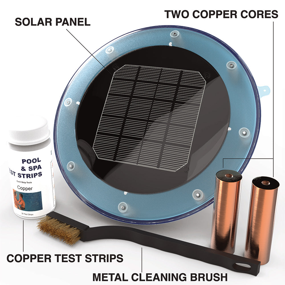 AK300 Solar-Powered Pool Ionizer