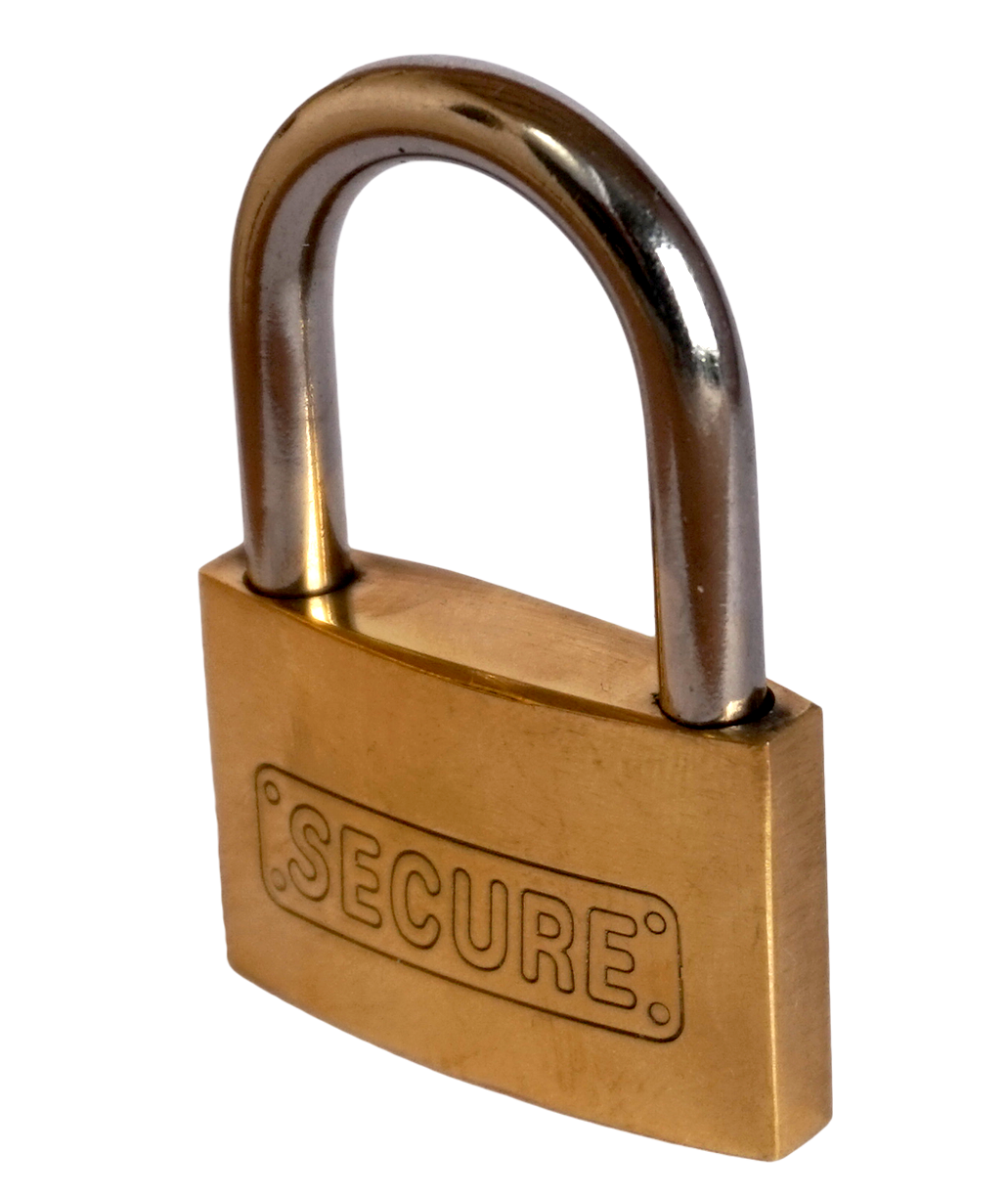 40 mm Solid Brass Padlock For Level 2 Home Charging Stations-level 2 home charging-ChargeHub Store-Ontario-British Columbia-Canada