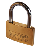 50 mm Solid Brass Padlock For Level 2 Home Charging Stations-level 2 home charging-ChargeHub Store-Ontario-British Columbia-Canada