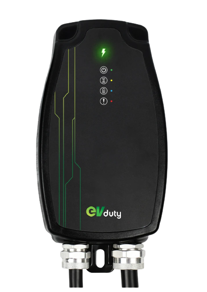 Hardwired EVduty-40 EVC30 Charging Station for Electric Vehicles and Plug In Hybrids