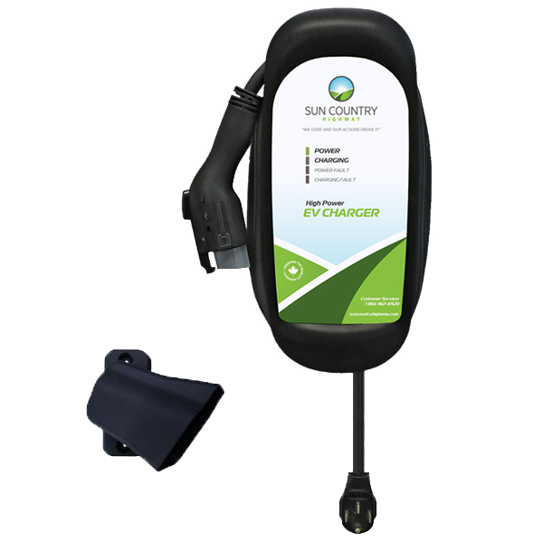 Sun Country Highway RUGGED edition-EV40R - Hardwired-level 2 home charging-ChargeHub Store-Ontario-British Columbia-Canada