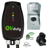 EVduty-40 EVC30 Smart Home Charging Station with NEMA 6-50 Plug and One-House Bundle for Electric Vehicles and Plug In Hybrids-level 2 home charging-ChargeHub Store-Ontario-British Columbia-Canada