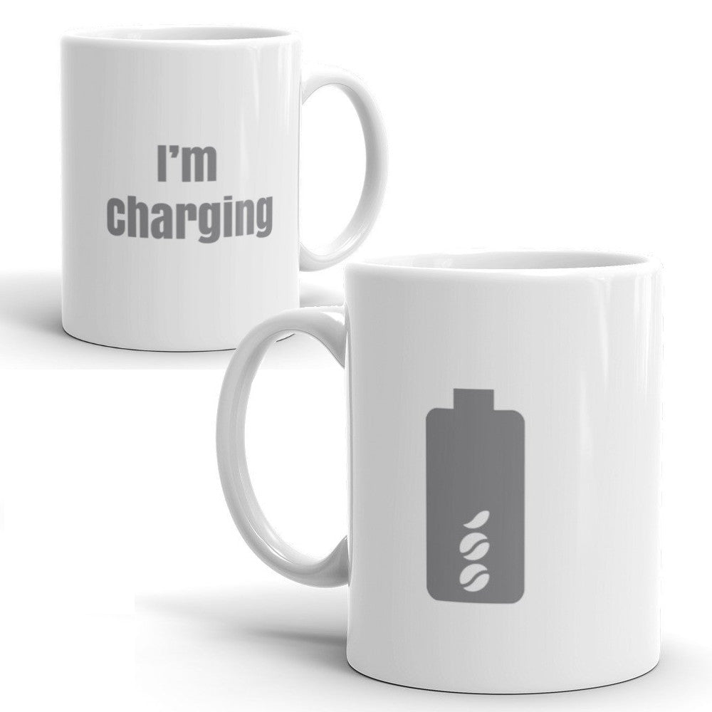 I'm Charging Mug-11oz-level 2 home charging-ChargeHub Store-Ontario-British Columbia-Canada