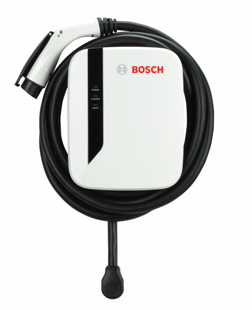 EV600 Series Powerful Home EV Charging Station by Bosch-40 amps / 25-foot cable-level 2 home charging-ChargeHub Store-Ontario-British Columbia-Canada