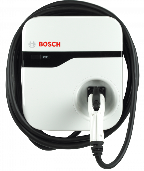 EV200 Series Home EV Charging Station by Bosch-16 amps / 12-foot cable-level 2 home charging-ChargeHub Store-Ontario-British Columbia-Canada