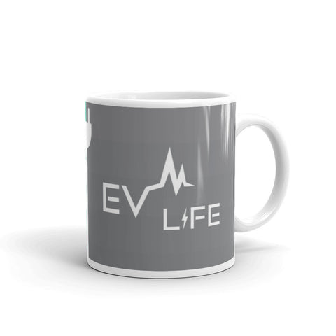 EV Life Mug-11oz-level 2 home charging-ChargeHub Store-Ontario-British Columbia-Canada